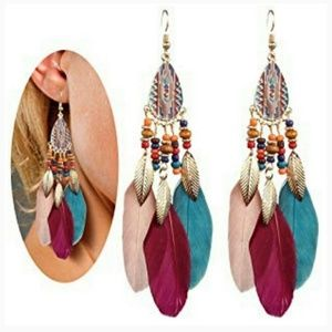NEW Bohemia Dream Catcher Earrings